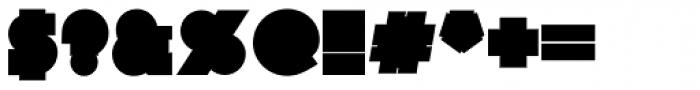 Nemek Simple Font OTHER CHARS