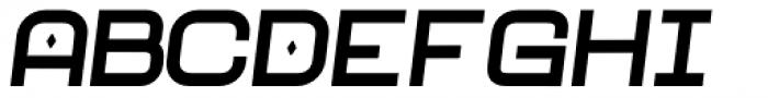 Neo Afrique Pro Bold Oblique Font UPPERCASE