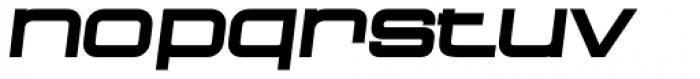 Neo Afrique Pro Bold Oblique Font LOWERCASE