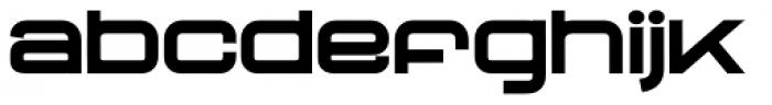 Neo Afrique Pro Bold Font LOWERCASE