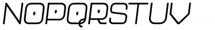 Neo Afrique Pro Book Oblique Font UPPERCASE
