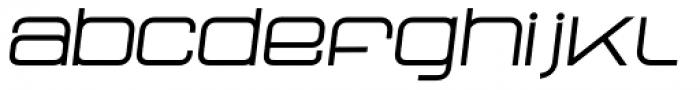 Neo Afrique Pro Book Oblique Font LOWERCASE