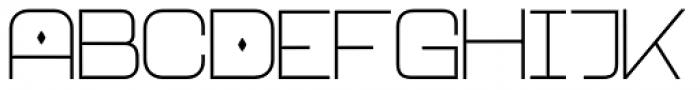 Neo Afrique Pro Light Font UPPERCASE