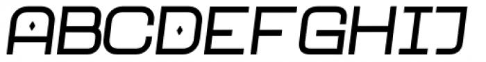 Neo Afrique Pro Medium Oblique Font UPPERCASE