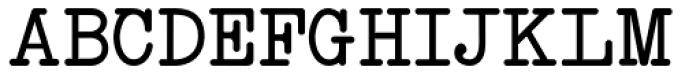 Neo Bulletin Font UPPERCASE