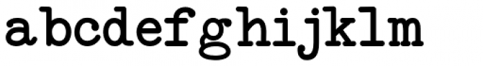 Neo Bulletin Font LOWERCASE