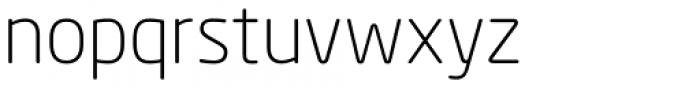 Neo Sans Paneuropean Light Font LOWERCASE