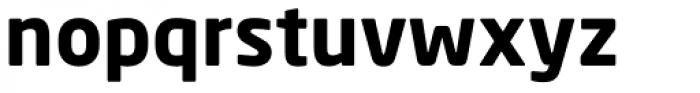 Neo Sans Paneuropean W1G Bold Font LOWERCASE