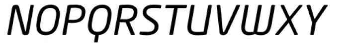 Neo Tech Italic Alt Font UPPERCASE