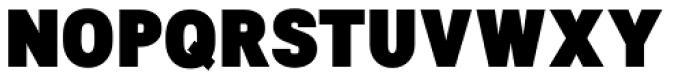 NeoGram Condensed Black Font UPPERCASE
