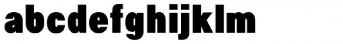 NeoGram Condensed Black Font LOWERCASE