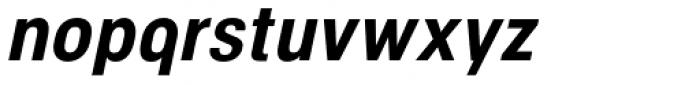 NeoGram Condensed Bold Italic Font LOWERCASE