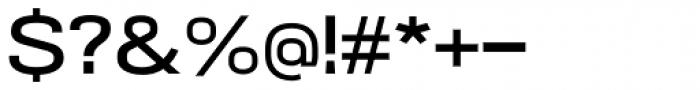 NeoGram Extended DemiBold Font OTHER CHARS