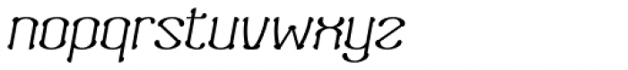 Neogot Italic Font LOWERCASE
