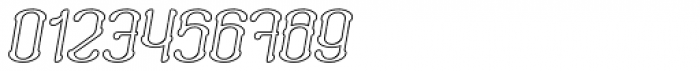 Neogot Outline Italic Font OTHER CHARS