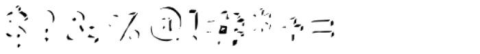Neometrix two Font OTHER CHARS