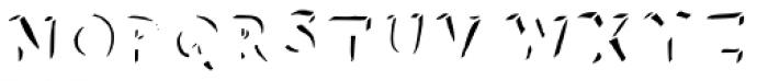 Neometrix two Font UPPERCASE