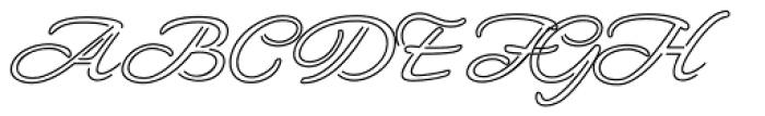 Neon Derthaw ROB Font UPPERCASE