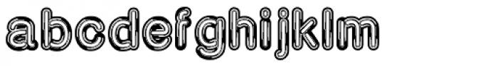 Neona Chrome Font LOWERCASE
