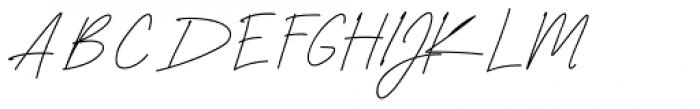 Neoncity Script Font UPPERCASE