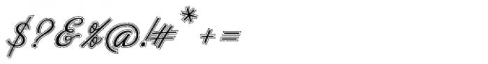 Neoscript Pro Raya Font OTHER CHARS