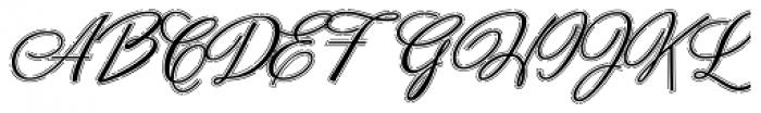 Neoscript Pro Raya Font UPPERCASE