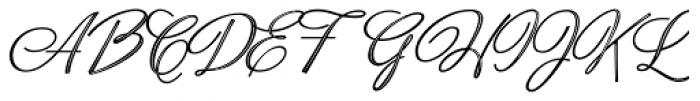 Neoscript Pro Two Font UPPERCASE