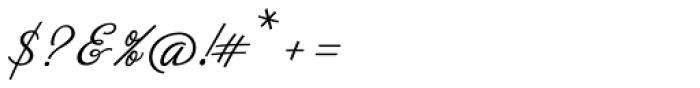 Neoscript Pro Zero Font OTHER CHARS