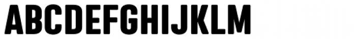 Nephrite Heavy Font UPPERCASE