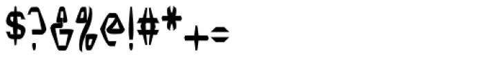Nerdish Hex Bold Font OTHER CHARS