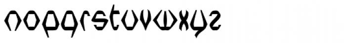 Nerdish Hex Bold Font LOWERCASE