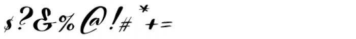 Nerine Regular Font OTHER CHARS