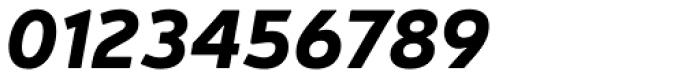 Neris Black Italic Font OTHER CHARS