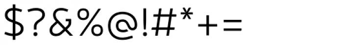 Neris Light Font OTHER CHARS