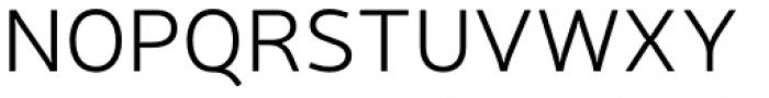 Neris Light Font UPPERCASE