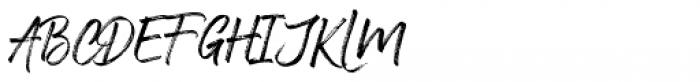 Nervous Regular Font UPPERCASE