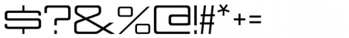 Nesobrite Exp Regular Font OTHER CHARS