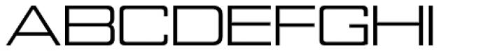 Nesobrite Exp Regular Font UPPERCASE
