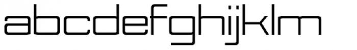 Nesobrite Exp Regular Font LOWERCASE