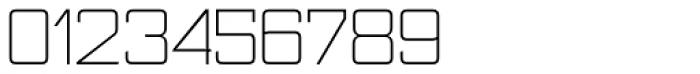 Nesobrite Light Font OTHER CHARS