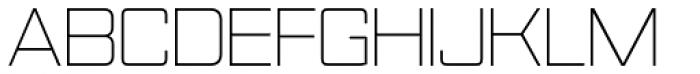 Nesobrite Light Font UPPERCASE