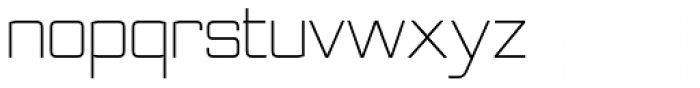 Nesobrite Light Font LOWERCASE