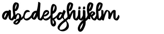 Netavilla Regular Font LOWERCASE