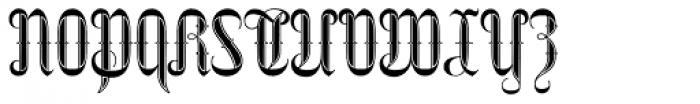 Netherland Perpendicular Bold Font UPPERCASE