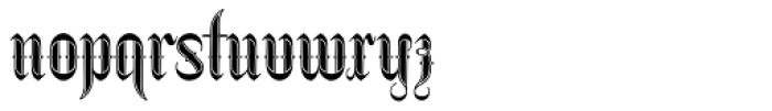 Netherland Perpendicular Bold Font LOWERCASE
