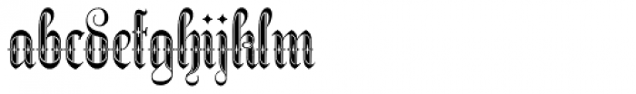 Netherland Perpendicular Demi Bold Font LOWERCASE