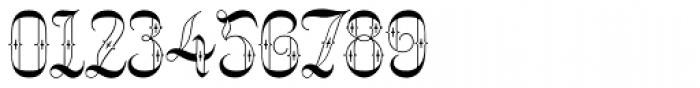 Netherland Perpendicular Regular Font OTHER CHARS