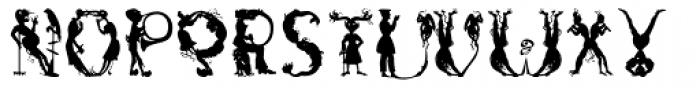 Netherworld Font LOWERCASE