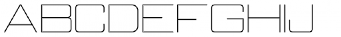 Neubank NF Thin Font UPPERCASE