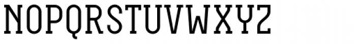 Neubau Serif Font UPPERCASE